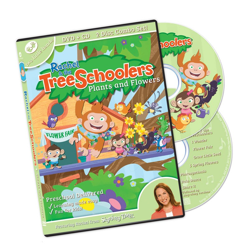 TreeSchoolers 2: Plants and Flowers DVD/CD