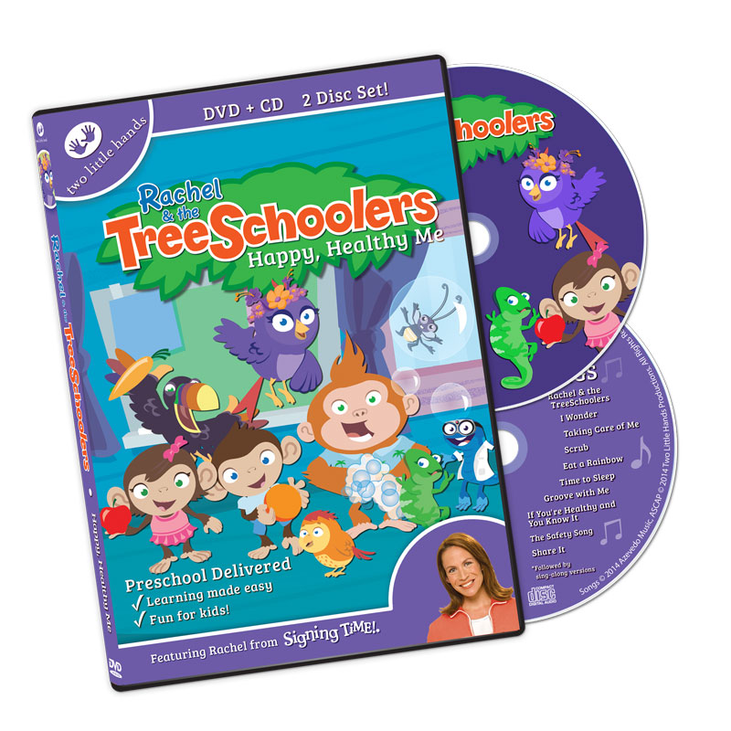 TreeSchoolers 6: Happy Healthy Me DVD/CD