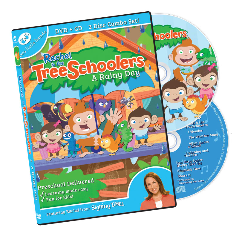 TreeSchoolers 1: A Rainy Day DVD/CD